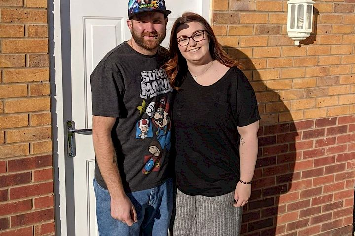 Nicole and James - homeowners Gleeson - happy buyer